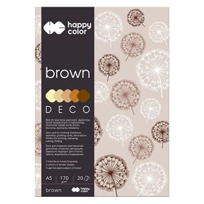 Blok DECO brown