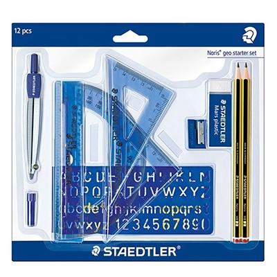 Zestaw akcesoriów do geometrii, Staedtler, 12 elementów