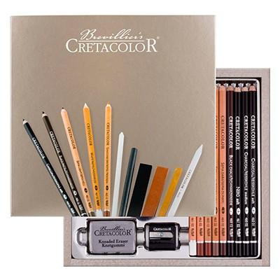 Zestaw szkicowy Passion Box Cretacolor