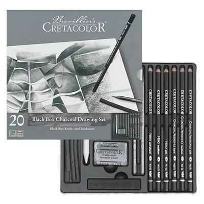 Zestaw szkicowy black Box Cretacolor