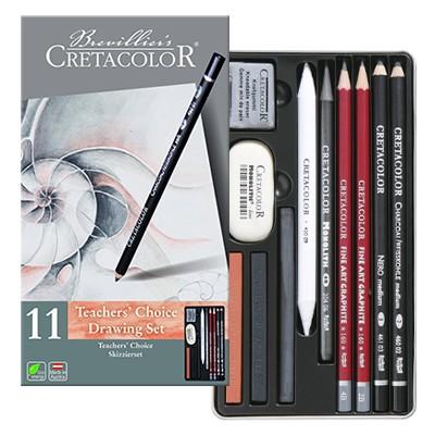 Zestaw szkicowy Teachers Choice Cretacolor
