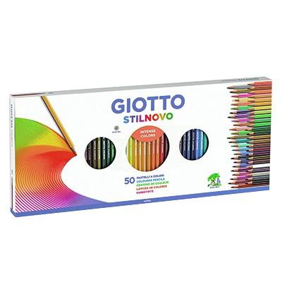Kredki rysunkowe Giotto Stilnovo 50 kol.