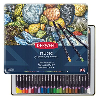 Kredki rysunkowe Studio Derwent 24