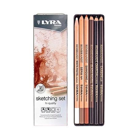 Ołówki rysunkowe Sketching Set Lyra