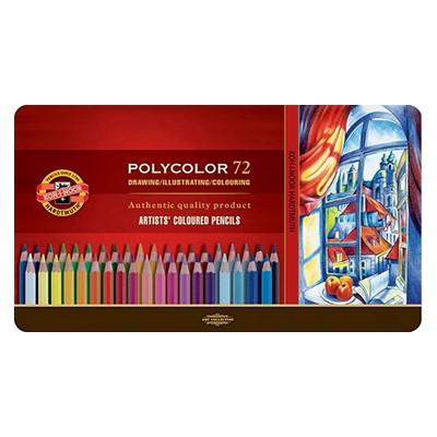 Kredki rysunkowe Polycolor, Koh-I-Noor, 72 kolory