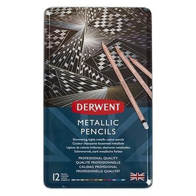 Kredki rysunkowe Metallic 12