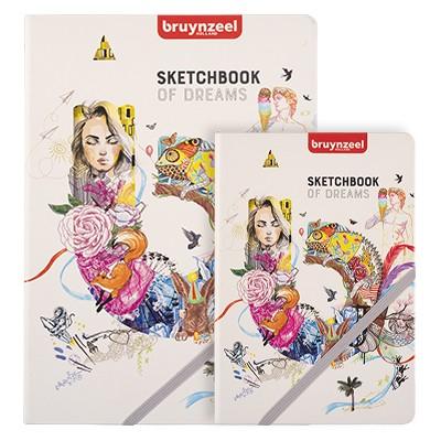 Szkicownik Sketchbook of dreams, Bruynzeel A5