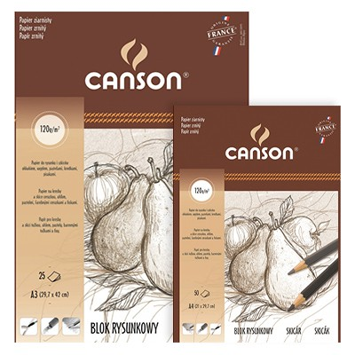 Blok rysunkowy Canson Student, 25 ark. A3, 120g