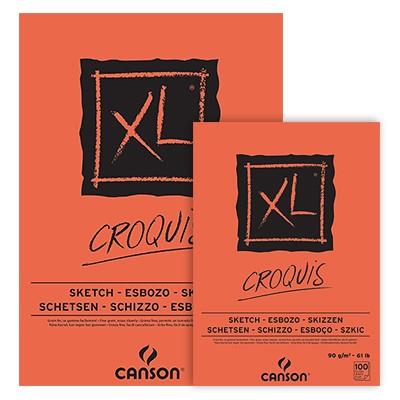 Szkicownik klejony Canson XL