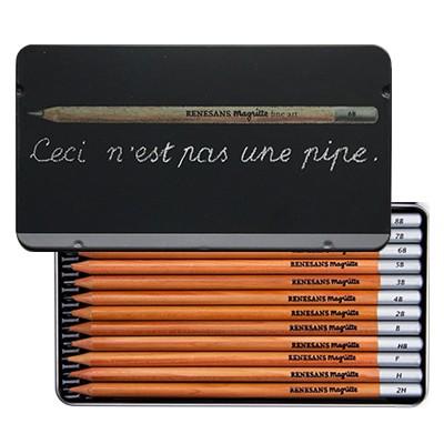 Komplet ołówków Magritte Renesans