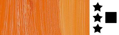 211 S4 Cadmium orange, farba olejna Rembrandt 40 ml