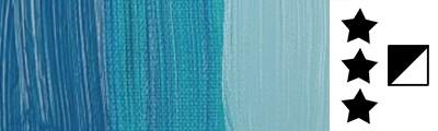582 S3 Manganese Blue Pthalo, farba olejna Rembrandt 40 ml