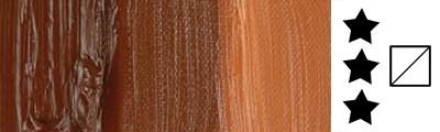 411 S1 Burnt Sienna, farba olejna Rembrandt 40 ml