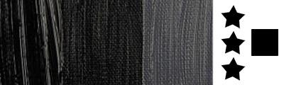 702 S1 Lamp Black, farba olejna Rembrandt 40 ml