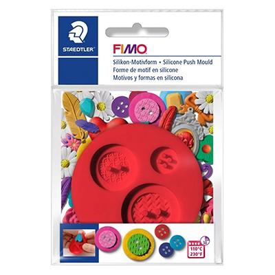 Guziki - formy do mas plastycznych FIMO, Staedtler