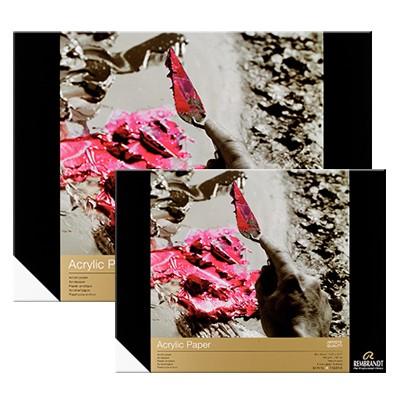 Blok do farb akrylowych Rembrandt, Talens, 10 ark. 400g, 24 x 32
