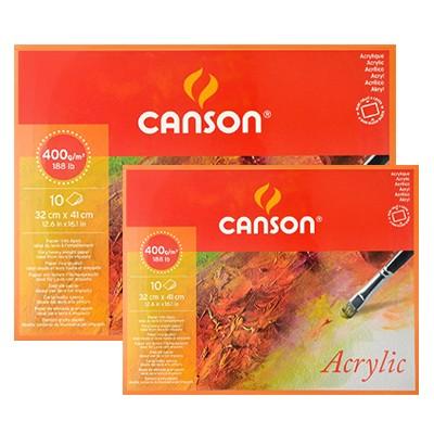 Blok do farb akrylowych acrylic canson