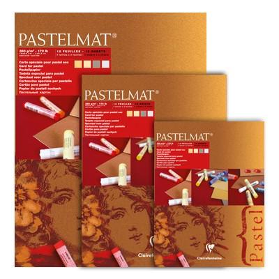 Pastelmat light tones, blok do pasteli Clairefontaine, 24/30 cm