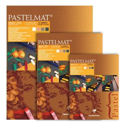 Pastelmat dark tones, blok do pasteli Clairefontaine, 30/40 cm