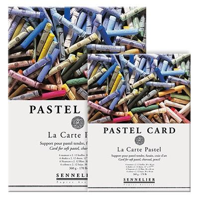 Blok kolorowy Pastel Card, Sennelier, 12 ark. 24 x 32cm, 360g