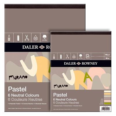 Murano Daler Rowney neutral colours, blok 30,5x40,6cm, 30 ark, 1