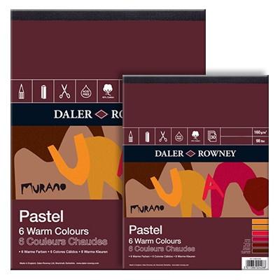 Murano Daler Rowney warm colours, blok 22,8x30,5cm,30 ark, 160g
