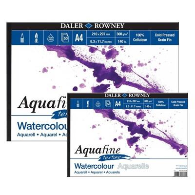 Aquafine texture, blok akwarelowy Daler Rowney 20 x 40cm, 300 g
