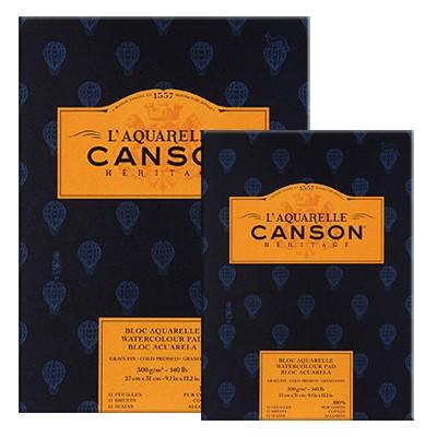 blok do akwareli Canson Heritage