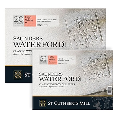 waterford high white hot press