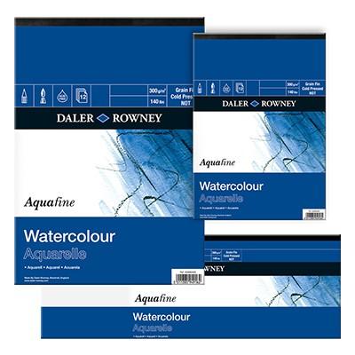 Aquafine, blok akwarelowy Daler Rowney 22,8x30,5cm, 12ark, 300g