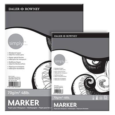 Daler Rowney Simply blok do markerow