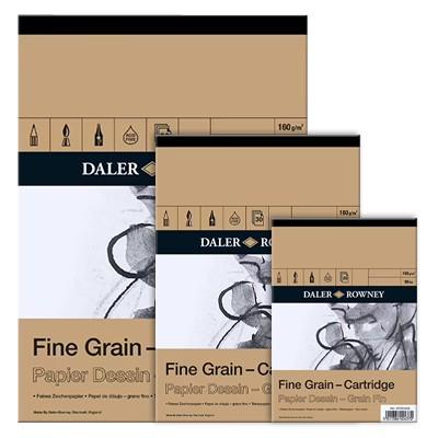 Blok rysunkowy Daler Rowney - Fine Grain, 30 kartek A4, 160g
