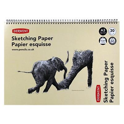 Szkicownik na spirali Derwent Elephant