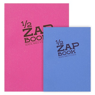 Szkicownik 1/2 ZAP BOOK A5, Clairefontaine, 80 ark. 80g