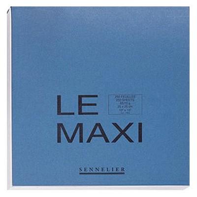 Blok szkicowy 'LE MAXI' Sennelier, 25x25cm, 90g, 250ark.
