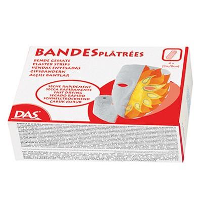 Bandaże gipsowe DAS, 4 sztuki