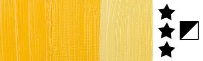 284 S3 Permanent Yellow Medium, farba olejna Rembrandt 40 ml