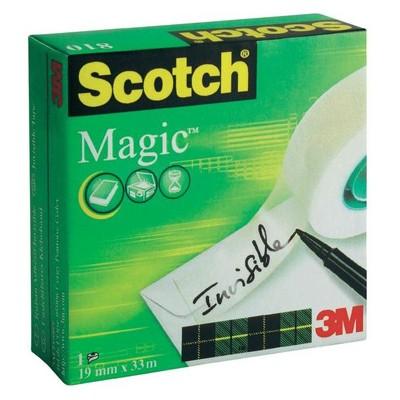 Taśma samoprzylepna Magic, Scotch, 19mm x 33m