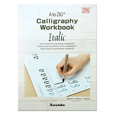 Calligraphy Workbook Italic, zeszyt ćwiczeń, Kuretake