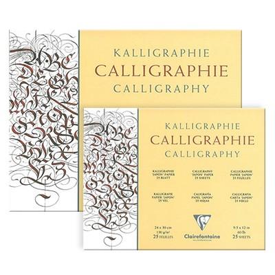 blok do kaligrafii clairefontaine