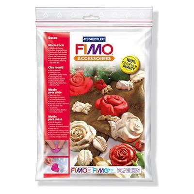 Róże, komplet form do odlewów Fimo, Staedtler