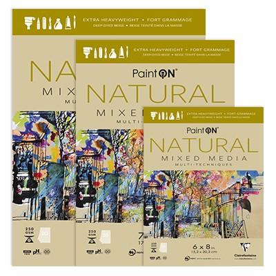 Paint ON Natural, blok 17,8 x 25,4 cm, 20 ark.