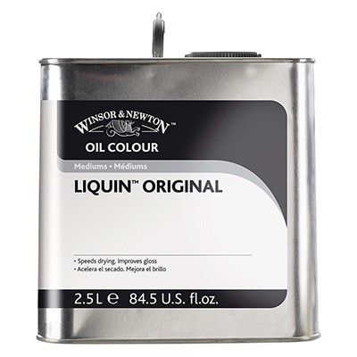 Liquin original W&N, medium szybkoschnące do farb olejnych 2500 ml