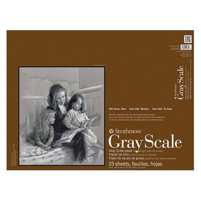 Blok Gray Scale Strathmore