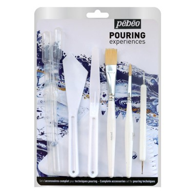 Zestaw narzędzi do techniki pouringu Pebeo, 11 szt.