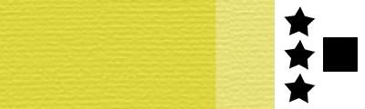 196 Sulphur yellow, artystyczna farba olejna Lefranc 40 ml