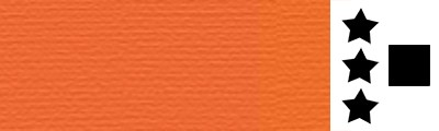 161 Cadmium yellow orange, artystyczna farba olejna Lefranc 40 ml