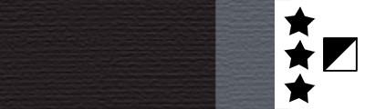 269 Ivory black, artystyczna farba olejna Lefranc 40 ml