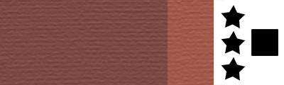 306 Red ochre, artystyczna farba olejna Lefranc 40 ml
