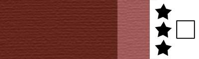 769 Transparent red ochre, artystyczna farba olejna Lefranc 40 ml